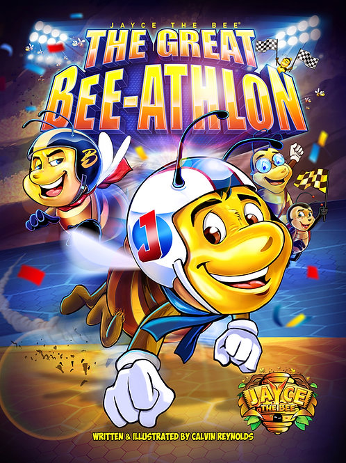 Jayce The Bee: The Great Bee-Athlon_paperback