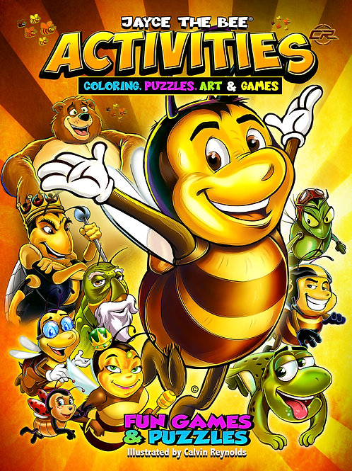 JayceThe Bee Activities & Coloring Book