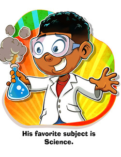 Harold loves his science class