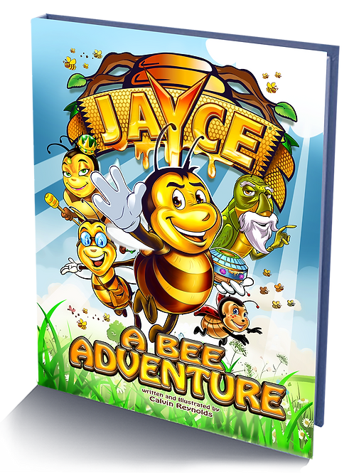 Jayce A Bee Adventure Hardcover