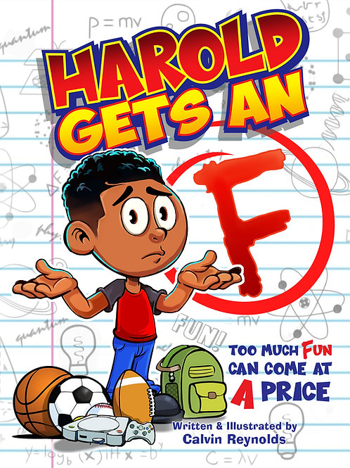 Harold Gets An F Paperback