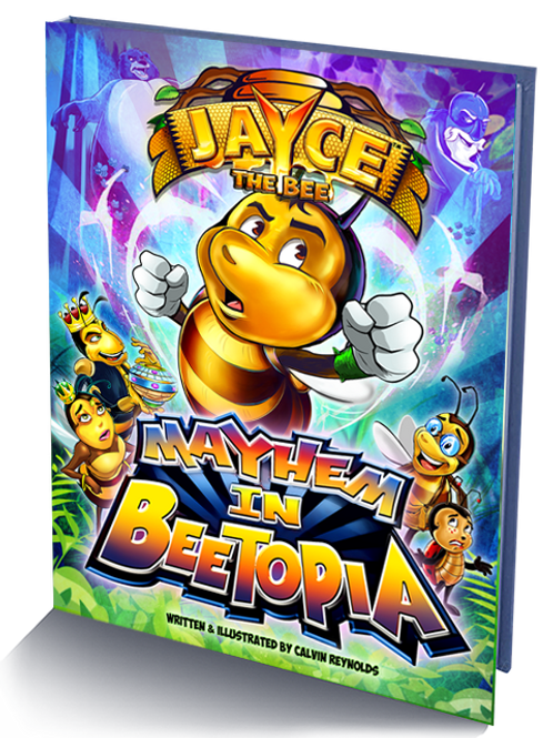 Jayce The Bee: Mayhem In Beetopia_Hardcover