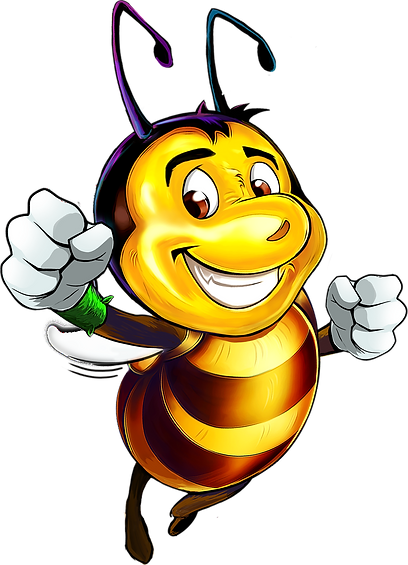 Jayce the Bee in action
