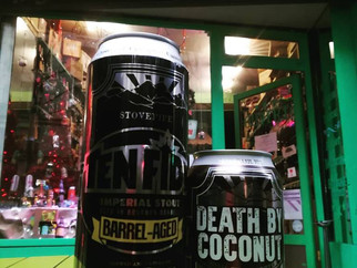 Oscar Blues revient avec Ten Fidy (Barrel Aged Bourbon) et Death by Coconut