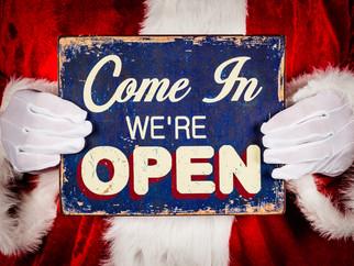 Vos caves restent ouvertes les dimanches 24 & 31 décembre 🥂