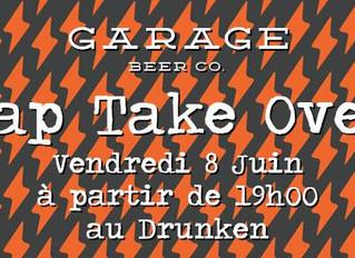 Soirée évènement : Garage Beer Co.  + Garage Music