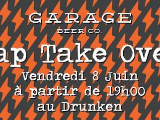 Paris Beer Week : Garage Beer Co. Tap take Over le 8 juin au Drunken