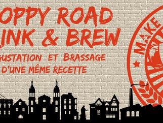 """Atelier """"Drink n'Brew"""" avec la brasserie Hoppy Road"""