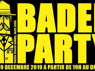 Jeudi 19 décembre : O'Clock - TTO Baden Party - 100% Barrel Aged Beers