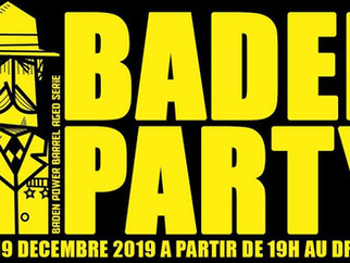 Baden Party : Tap Take Over O'Clock Brewing, 100% Barrel Aged