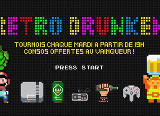 Tous les mardis, tournois de Rétro Gaming sur écran géant