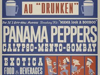 Jeudi 16 mai : Calypso evening ! concert Panama Peppers + DJ Roudoudou