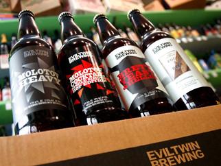 Nouveautés chez Eviltwin Brewing (USA)