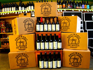 On a refait le plein de bières de chez Brouwerij de Molen !