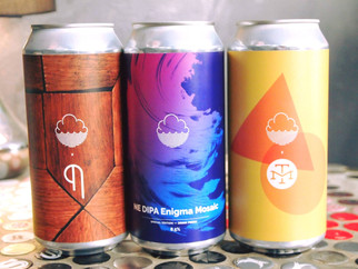 ... 💨 💨 Arrivage furtif de Cloudwater Brew Co