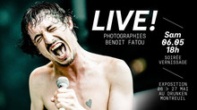 Live ! Exposition Photographies // Benoit Fatou