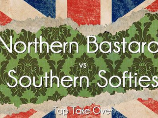 Jeudi 11 mai 2017 : Northern Bastards versus Southern Softies - Tap Take Over (arbitres gallois) au