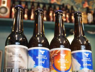 Retour des bières locales : Popihn, Elixkir, Iron, Bières de Belleville, La Frigante, Croix de Chava