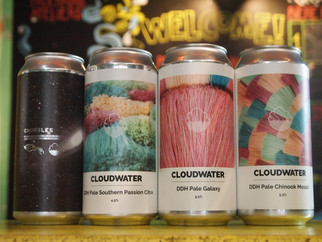Cloudwater : arrivage furtif !!