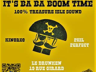 It's Ba Ba Boom Time ! Samedi 25 février 19h