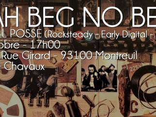 Samedi 22 octobre, à 17h : WE NAH BEG NO BEER ! au Drunken