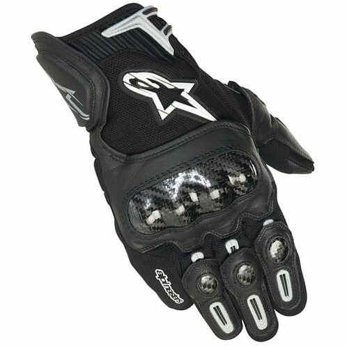 Alpinestars SP-X Mens Motorcycle Gloves Black
