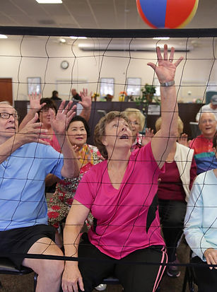 'No Fall Volleyball' a fun way to get seniors into fitness