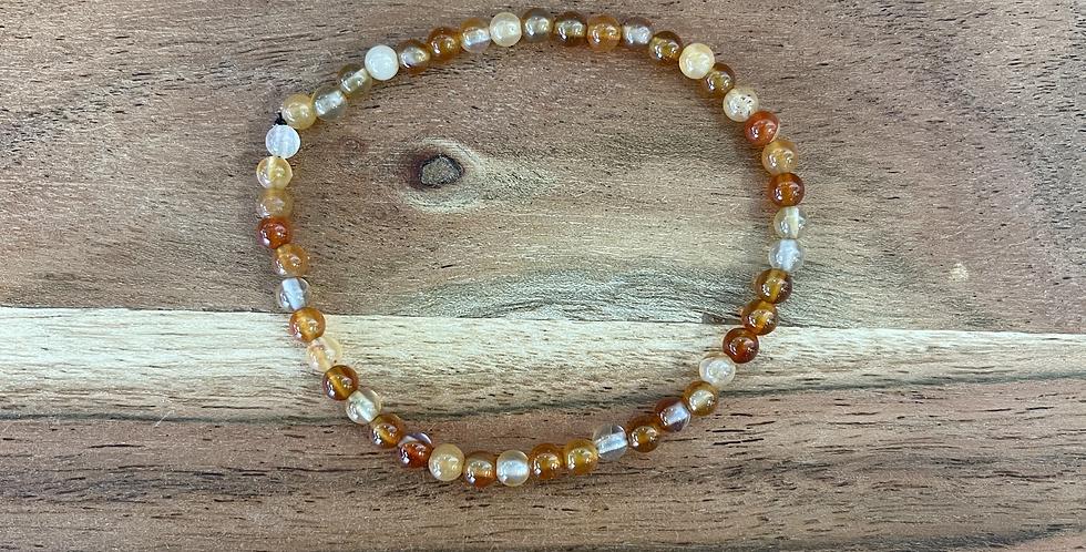 Carnelian Sacral Chakra Bracelet