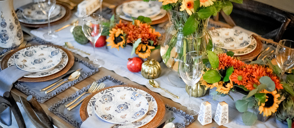 Katie's Thanksgiving Table Reveal