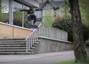Keith Stevenson - Switch frontside flip