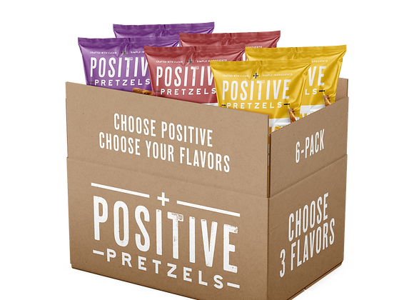 CHOOSE YOUR FLAVORS - PACK OF 6