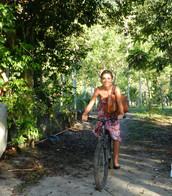 Passeio de bicicletas