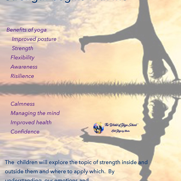 Kids Yoga Summer Camp Aug 2021 Cover