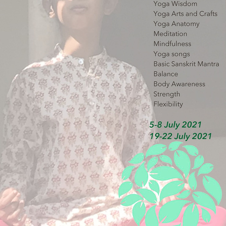 July 2021 Kids Yoga Camp Cover