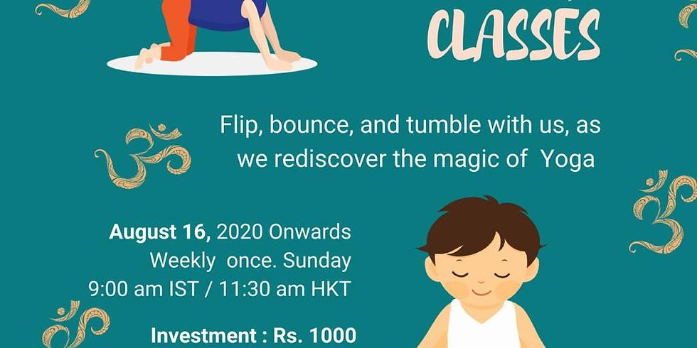 Online Kids Yoga Classes