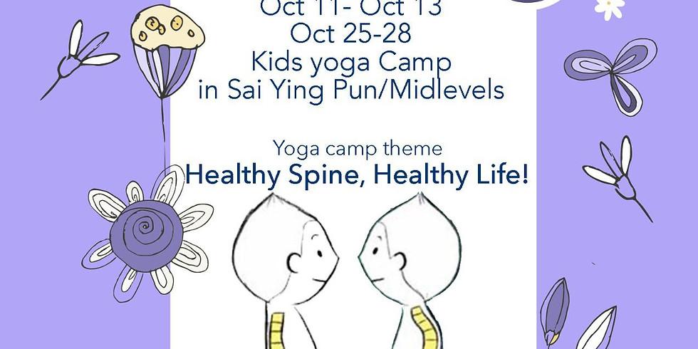 Kids Yoga Half Term  Camp Oct 2021