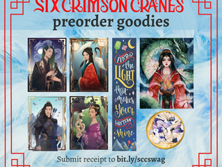 Announcing the Six Crimson Cranes Preorder campaign