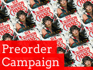The SIX CRIMSON CRANES Preorder Campaign is Live