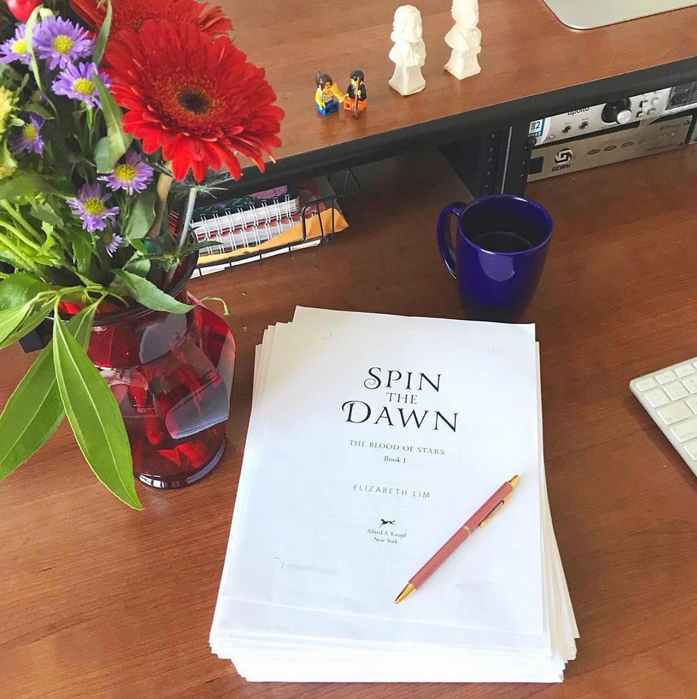 First Pass Pages for SPIN THE DAWN