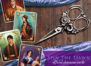SPIN THE DAWN Character Cards