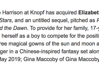 My 2-book deal for THE BLOOD OF STARS!