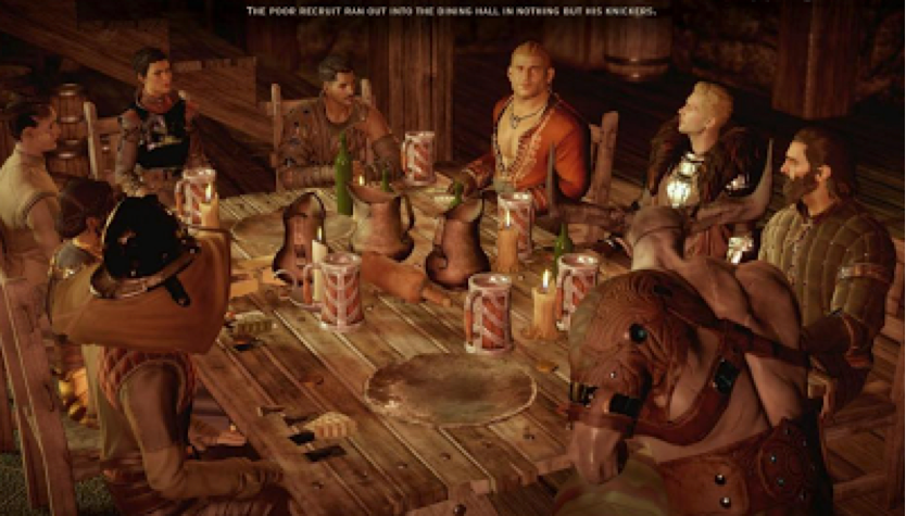 Dragon Age: Inquisition table
