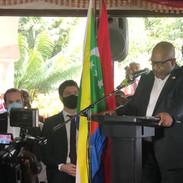 Ouverture du congrès par le président de l'union des Comores