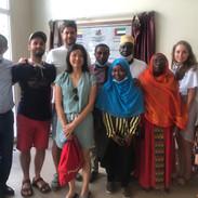 L'équipe du bloc de l'hopital El-Maarouf