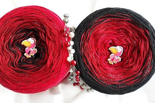 Black Rose mit Lurex