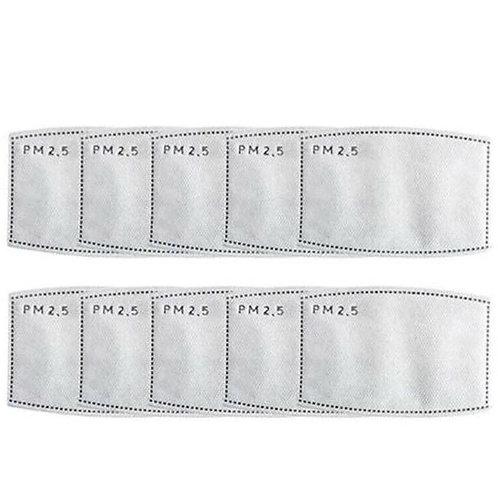 10x Wechselfilter für Atemschutzmaske