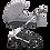 Thumbnail: Tito Grau 4in1 Weißer Rahmen