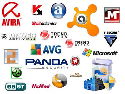 Avira, bitdefender, avast, Dr Web, Trend Micro, Panda, Microsoft, McAfee, Norton, Microsoft