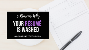 5 reasons your resume is outdated