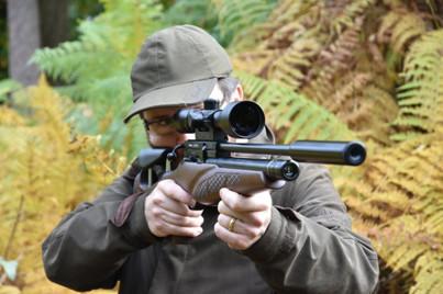 Air rifle range in St Albans